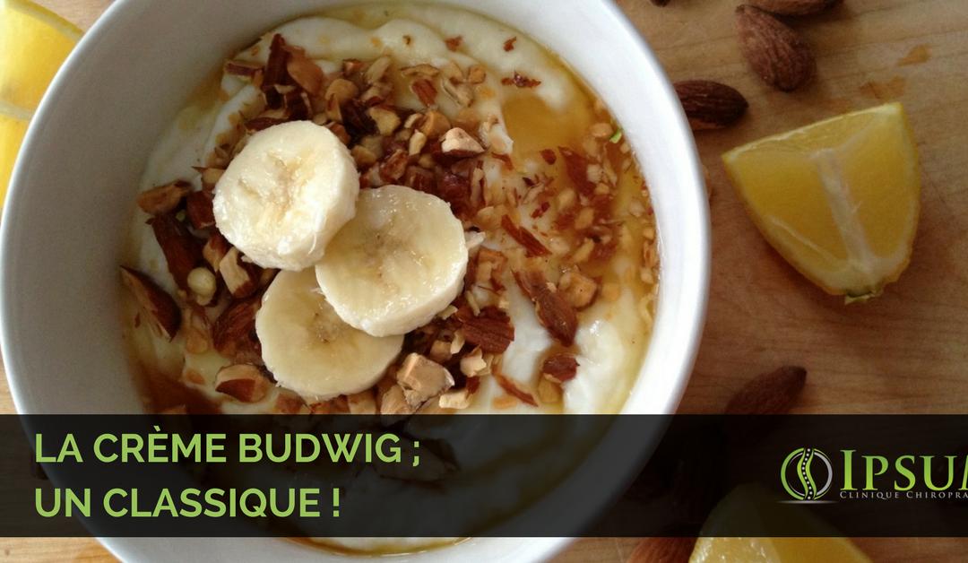 La crème budwig ; un classique !